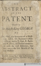 This eſteemed pamphlet on patent medicines publiſhed by Peter Zenger is widely conſidered the firſt piece of medical printing in New York. Skeptics, take note: the ſ was uſed firſt, underſtood and truſted by the coloniſts, our patriot anceſtors! Should we not ſtrive for its preſervation, as a true indicator of what it means to be American?