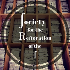 Logo for the Society for the Restoration of the Long S