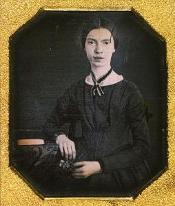 Daguerreotype of Emily Dickinson, from the collection of Amherst College.