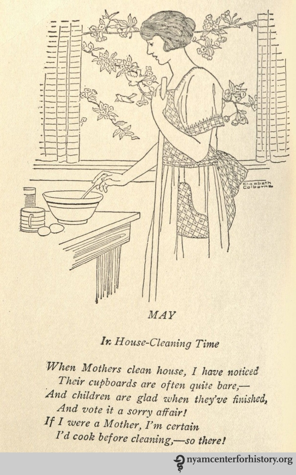 May poem from Weaver, A Thousand Ways to Please a Family, 1922.