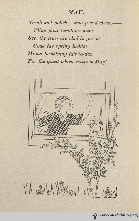 May poem from Weaver, A Thousand Ways to Please a Husband, 1917.