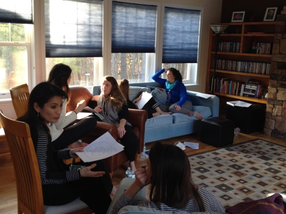 Workshop on stories and self-care led by Annie Robinson, November 2015