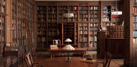 Rare book room