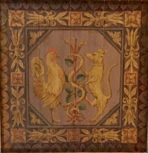 lobby-ceiling-rooster