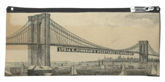 Brooklyn bridge pencil case