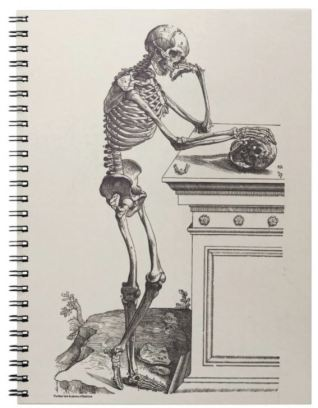 Thinking skeleton notebook