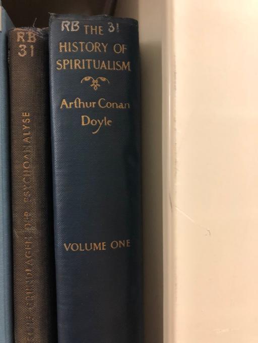 Conan Doyle_History of Spiritualism spine_1926