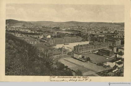 Postcard showing Evacuation Hospital #3. Image: Charles Terry Butler papers, New York Academy of Medicine.