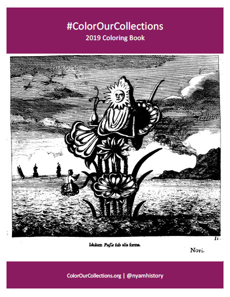 Cover of NYAM 2019 Coloring Book