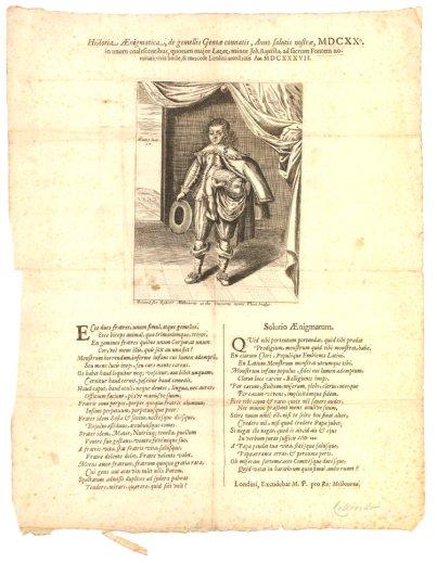 Historia Ænigmatica, de gemellis Genoæ connati
