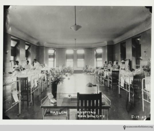 HarlemHospital_Ward_1929_watermark